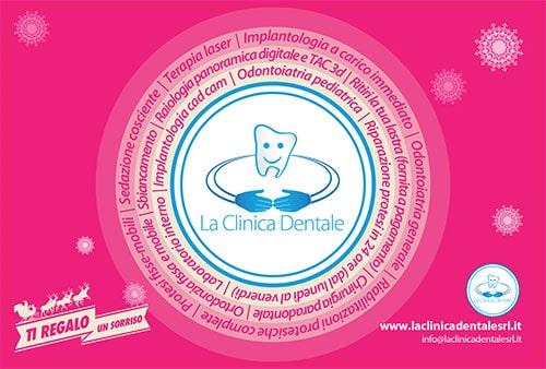 Cartolina Ti Regalo Un sorriso 2 - La Clinica Dentale Gallarate