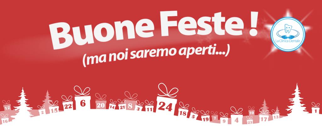 Buone Feste - calendario La Clinica Dentale srl Gallarate