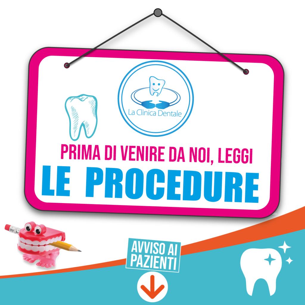La Clinica Dentale - Procedura dal 18 maggio - Fase 2