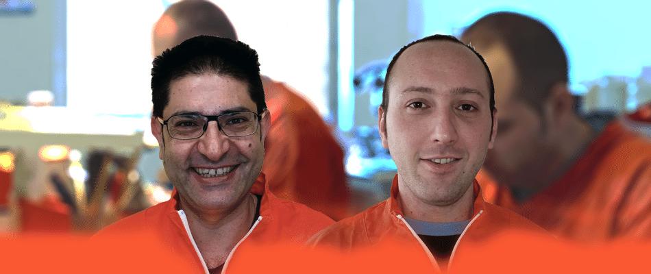 staff-3 odontotecnici La Clinica Dentale Srl